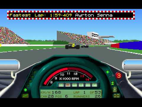 MicroProse Formula One Grand Prix Geoff Crammond 1991 Japanese Grand Prix Round 15 (F1 1991)