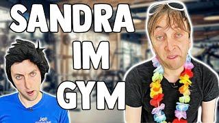 Sandra im Fitnessstudio🏋️♀️ | Freshtorge
