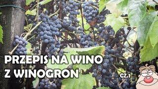 Wino winogronowe na dwa sposoby!