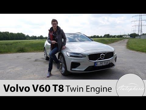 2019 Volvo V60 T8 Twin Engine AWD R-Design Fahrbericht / Ist der PHEV eine Alternative? - Autophorie