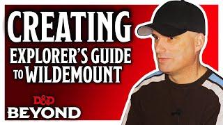 Chris Perkins on working with Matt Mercer to create the Explorer's Guide to Wildemount