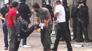 Pro Palestine Violences Urbaines. SarcellesFrance   20 Juillet 2014