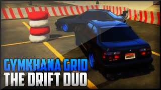 GTA 5: The Drift Duo - Drifting Gymkhana Grid Competition Track