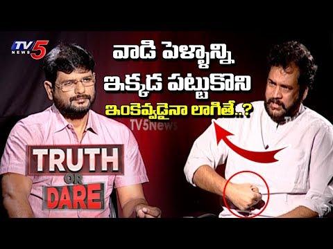 Hero Sivaji Sensational Interview On 3 Capitals To AP | TV5 Murthy Truth Or Dare | TV5 News