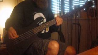 Annihilator - Imperiled Eyes Bass Cover