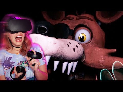 FNAF VR: The Scariest Game I've Ever Played   (Help Wanted) - DanTDM