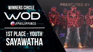 Sayawatha  | Winners Circle | 1st Place Youth Division World of Dance Philippines | #WODPH17