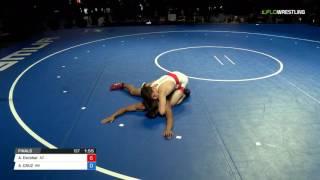 Junior FS 132 Finals - Atilano Escobar (AZ) vs. ALEXANDER CRUZ (WA)
