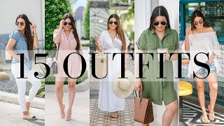 What I Wore: 15 Cute Summer Outfit Ideas: Casual Outfits | LuxMommy