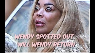 Wendy Williams Spotted Out Looking Gaunt
