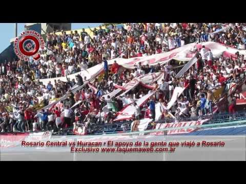 """""""Central 3 - 0 Huracan - La Banda de la Quema - www.laquemaweb.com.ar"""" Barra: La Banda de la Quema • Club: Huracán"""