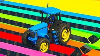 Синий трактор новая серия Смотреть Мультики про машинки и экскаватор для детей