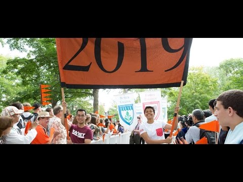 The Princeton University Class of 2019 Pre-rade