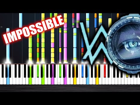 Alan Walker - The Spectre - IMPOSSIBLE PIANO by PlutaX