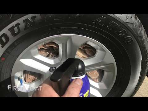 How to Plastidip wheels