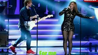 Ed Sheeran -Perfect Duet with Beyonce (Lyrics)