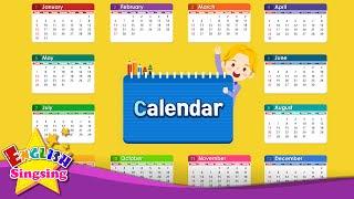 Kids từ vựng - Lịch - tháng và ngày - Tìm hiểu tiếng Anh cho trẻ em