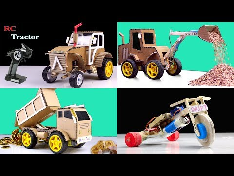 4 Amazing Rc Cars You Can Do At Home - Compilation - Diy Remote Control Toys