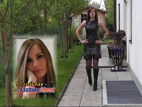 Danielas FashionCheck #019: Stiefel (High-Heel)/Kleid/Strümpfe