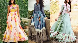 Vacation Outfit Ideas | Beautiful Maxi Dresses Ideas For Vacation | Floral Dress Designs