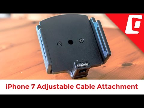 Play Video: Adjustable iPhone Holder for Lightning to USB Cable