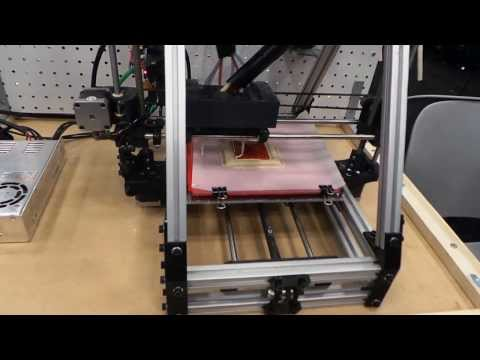 El futuro: imprimir comida