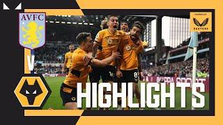 Aston Villa 2-3 Wolverhampton Pekan 8