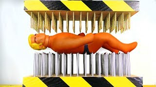 Gambar cover STRETCH ARMSTRONG BETWEEN NAIL BEDS (HYDRAULIC PRESS EXPERIMENT)