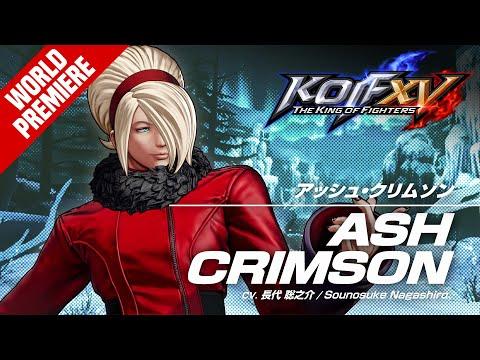 ASH CRIMSON?Trailer #28 de The King of Fighters XV