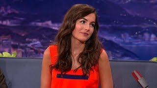 Camilla Belle Interview Part 02 - Conan on TBS