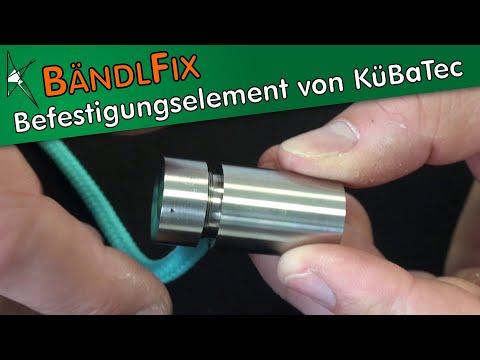 Individuellen Möbelgriff erstellen: Funktionsweise des Befestigungselements BändlFix von KüBaTec