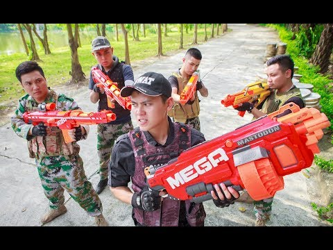 LTT Nerf War : SEAL X Warriors Nerf Guns Fight Criminal Group Up Police Legend
