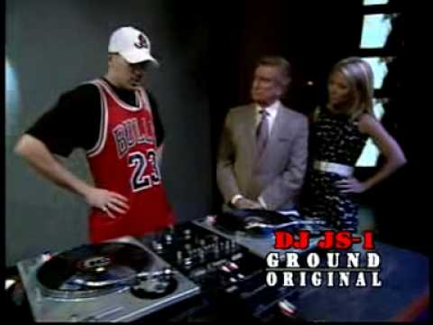 DJ JS-1 on Regis & Kelly Official High Quality Video