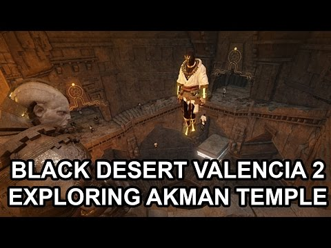 KR Version Open Dungeon Akman Temple Ruins Exploring