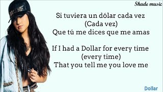 Becky G & Myke Towers - DOLLAR (English Translation Lyrics)
