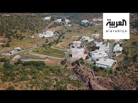 العرب اليوم - شاهد: جولة داخل مدينة سياحية في منطقة عسير السعودية