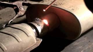 89 Cherokee Amateur Stick Welding Exhaust