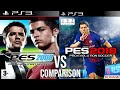 Pes 2008 First Vs Pes 18 Last Ps3