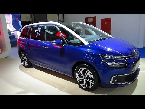 2018 citroen grand c4 picasso feel bluehdi 120 - exterior and ...