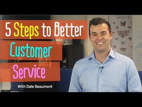 , title : '5 Steps to Better Customer Service