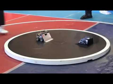 ROBOT WAR 2017 Japan vs UK - Fastest robot war ever !!! In slow motion.