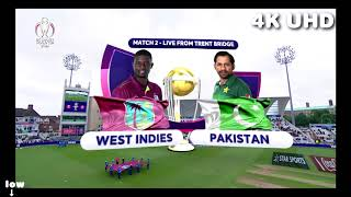 West Indies vs Pakistan - ICC Cricket World Cup 2019 - Match Highlights