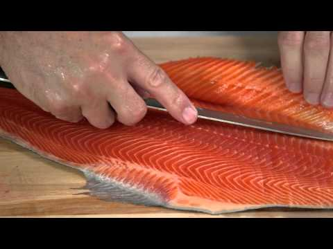 Kitchen Tips - How to Prepare a Whole Salmon