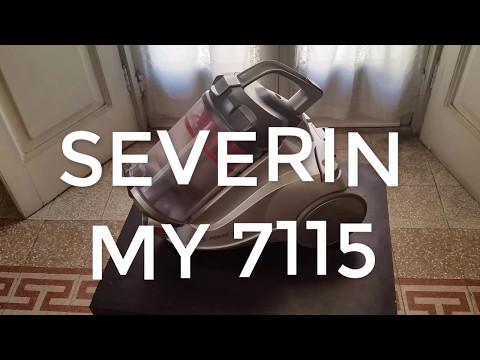 Aspirapolvere ciclonico Severin MY 7115 senza sacco - Recensione