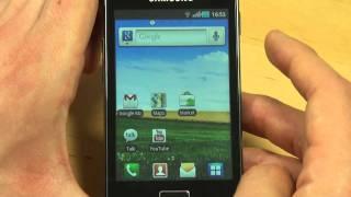 Samsung S5830 Galaxy Ace Test Bedienung