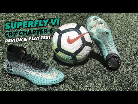 Download MERCURIAL SUPERFLY VI | REVIEW & PLAY TEST | CR7 CHAPTER 6 |