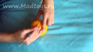 Как мы вяжем смайлики Madtoys.ru