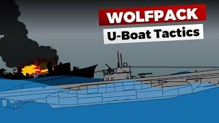 How U Boats Decimated Allied Convoys   Wolfpack & U Boat Tactics