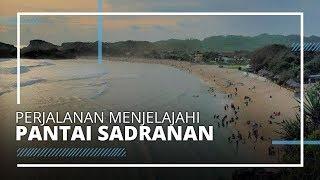 Perjalanan Menjelajahi Pantai Sadranan saat Liburan di Gunungkidul, Daerah Istimewa Yogyakarta