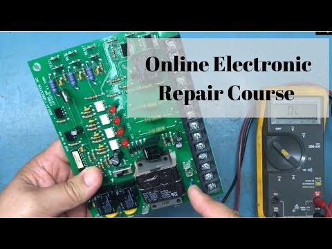 Introduction to my online electronic repair course - YouTube